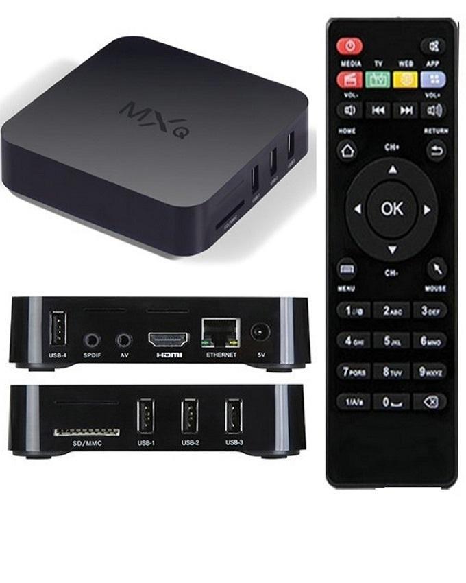 MXQ 4K Android TV Box - Quad Core 1GB/8GB