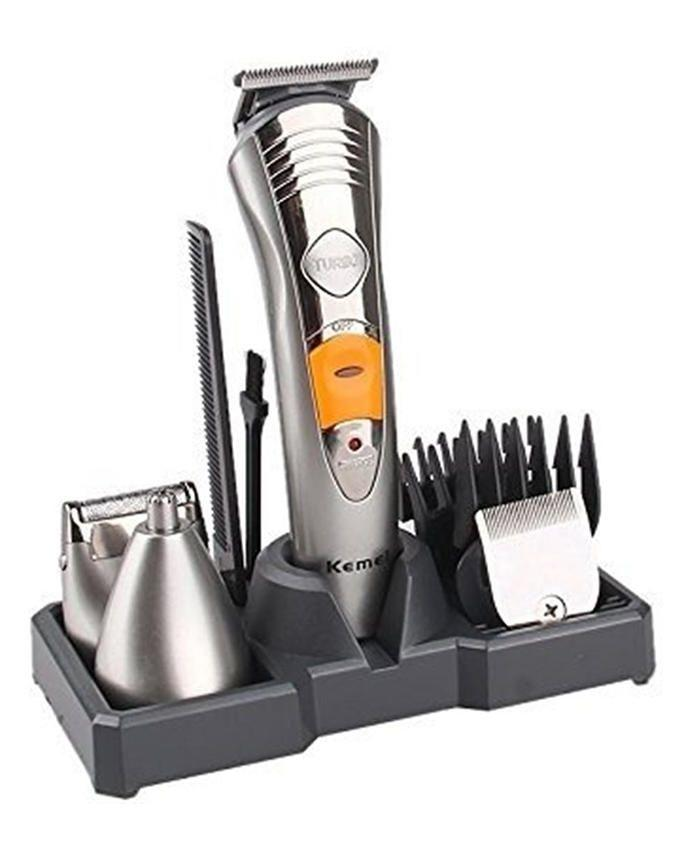 KM 580 - Trimmer 7 in 1- Silver