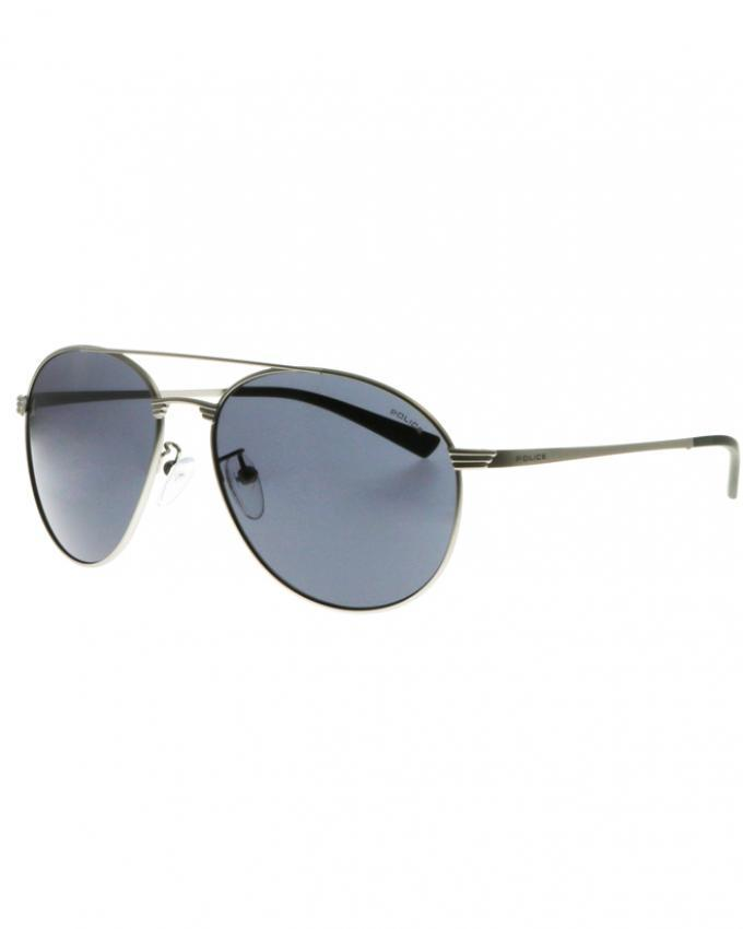 1fda6053eb9 S8953 COLOR 0581 - Silver Metal Frame with Blue Mirror Lens - Sunglass For  Men