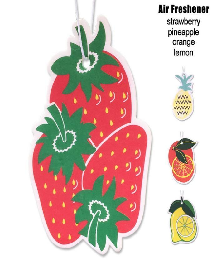 Pack of 2 - Natural Fruity Hanging Air Fresheners