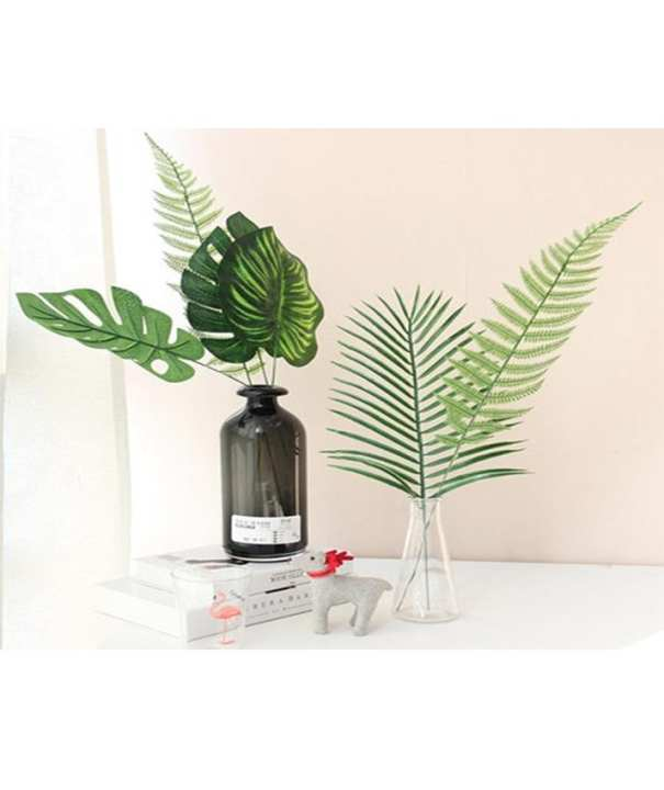 Pack of 4 Artificial Multi Leaves For Home Decorations