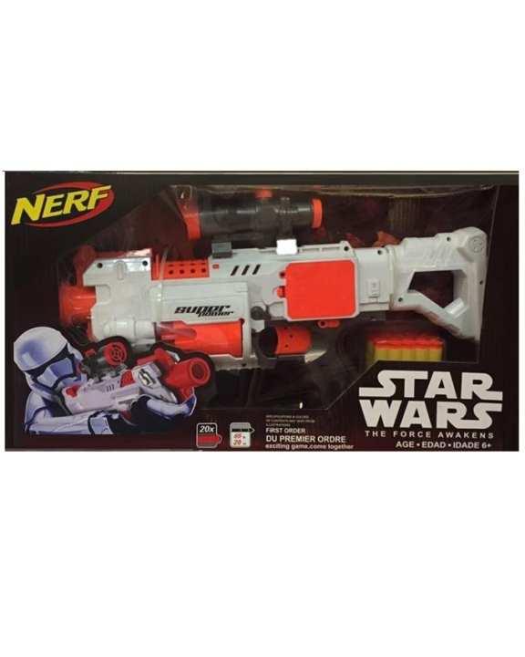 Star War Gun - White