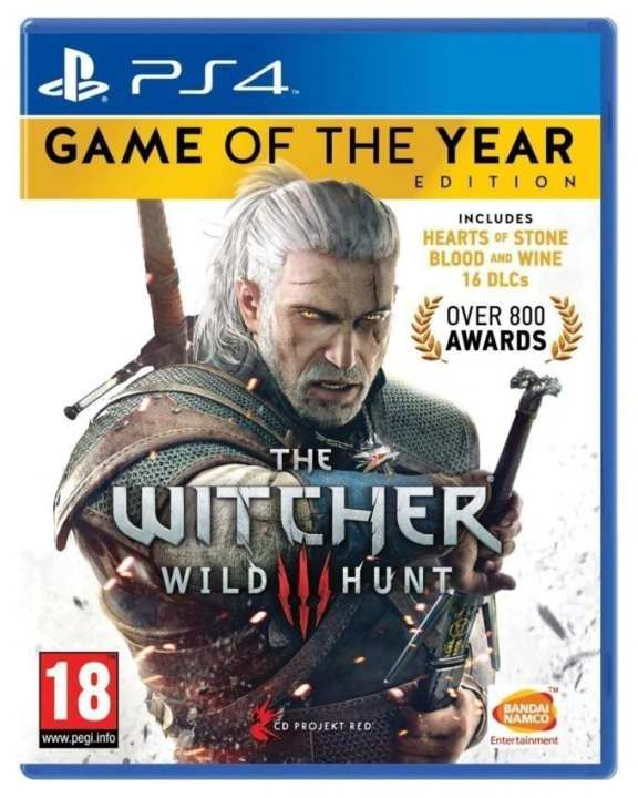 The Witcher 3 Wild Hunt: Game of the Year Edition - PlayStation 4