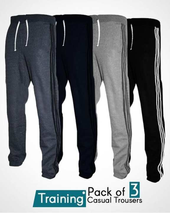 Pack Of 3 – Training Casual Trousers