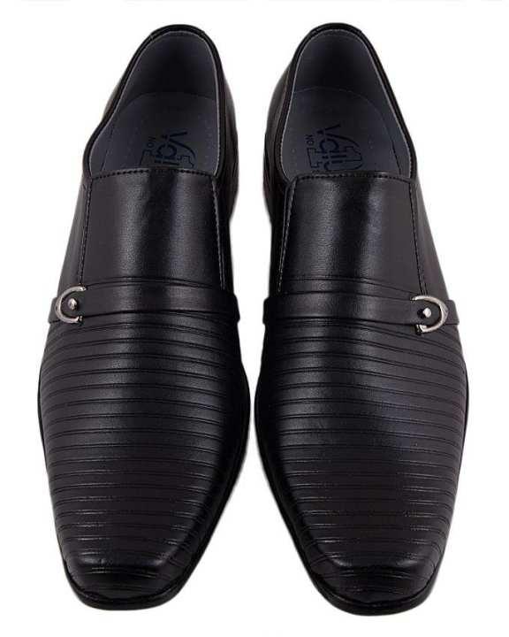 Oliver Suede Leather Formal Black Shoes