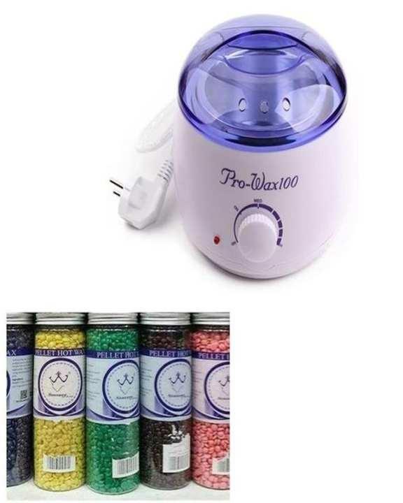 Wax Heater And Warmer With Konsung Wax Beans Jar 400 Gm