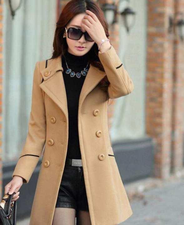 BRANDSTITCH - Skin Winter Fleece Outwear For Women