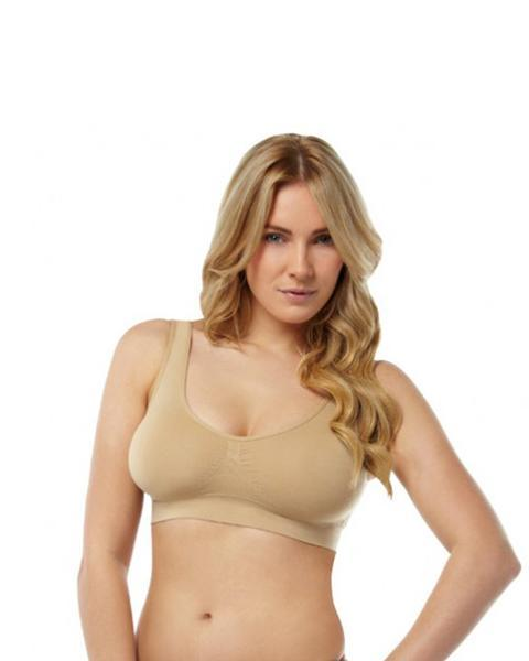 487bcf6d3c Women Seamless Wire Free Non-Padded Crop Top Fitness Sports Bra