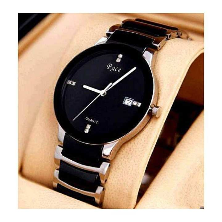 Race Leather Strap Watch for Men – SS