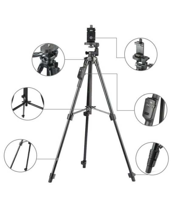 Yunteng 5208 With Bluetooth & Professional Mobile Holder Tripod