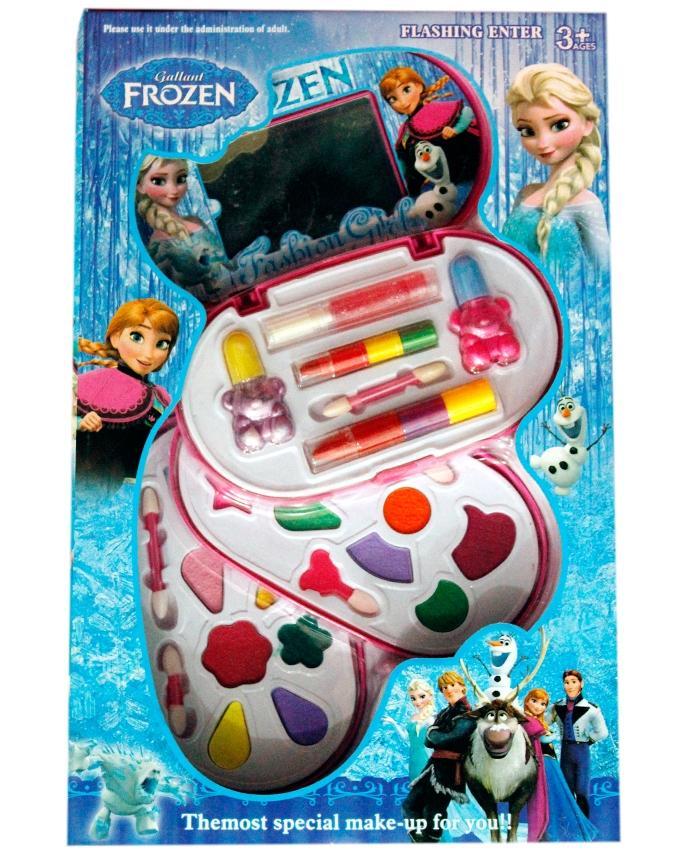 Frozen Princess Make up Kit Set for Kids - Mulicolor
