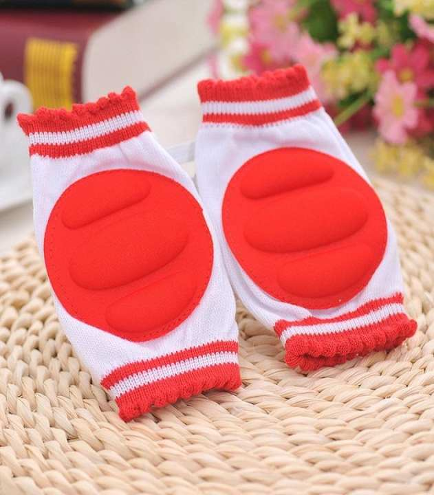 Red - Baby Knee Pads