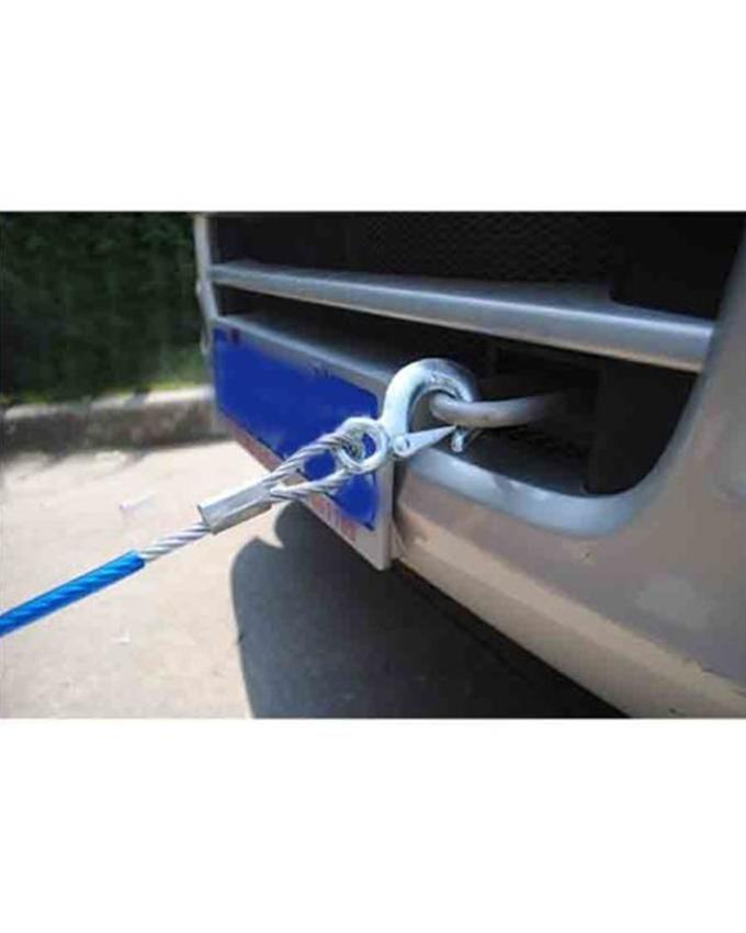 Auto Car Tow Chain/Rope Snatch Strap - 10 mm - Blue