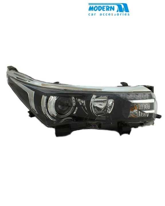 Toyota Corolla headlights Reflector Style - Model 2014-2017