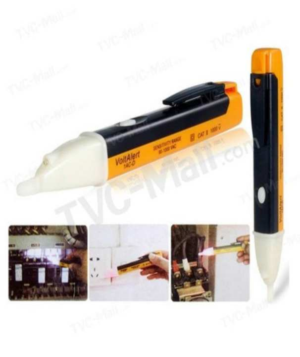 1PCS Electric Socket Wall AC Power Outlet Voltage Alert Detector Sensor Tester Pen 90-1000V
