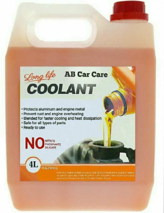 Car Coolant Made in Germany Extra Thicker 4-Liter