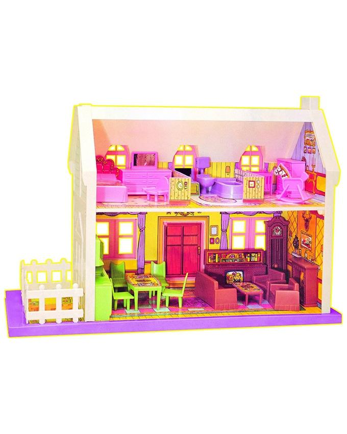 Big Country Doll House Pink