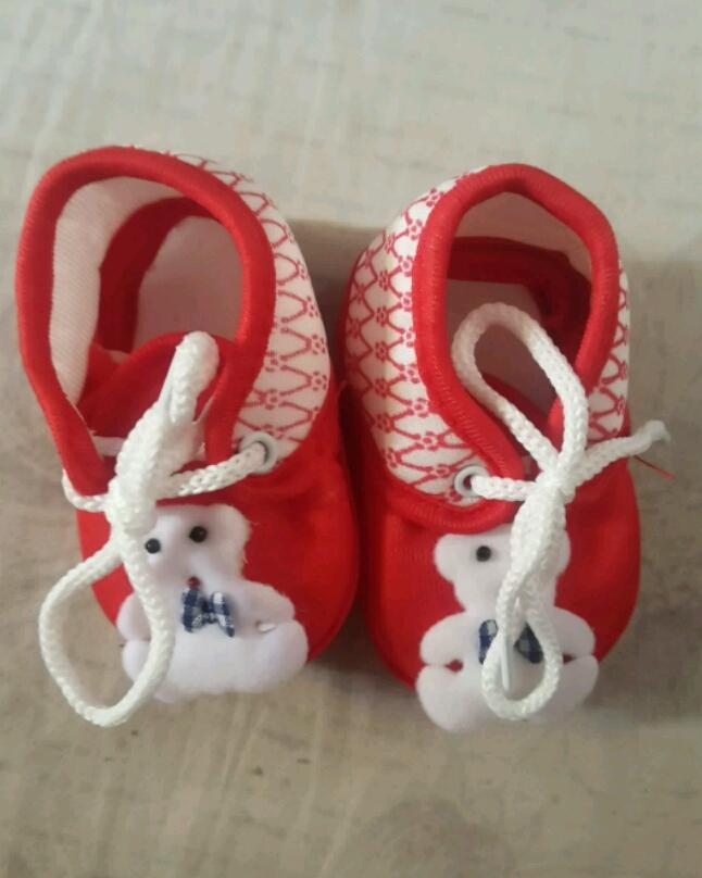 Booties For Kids - Red