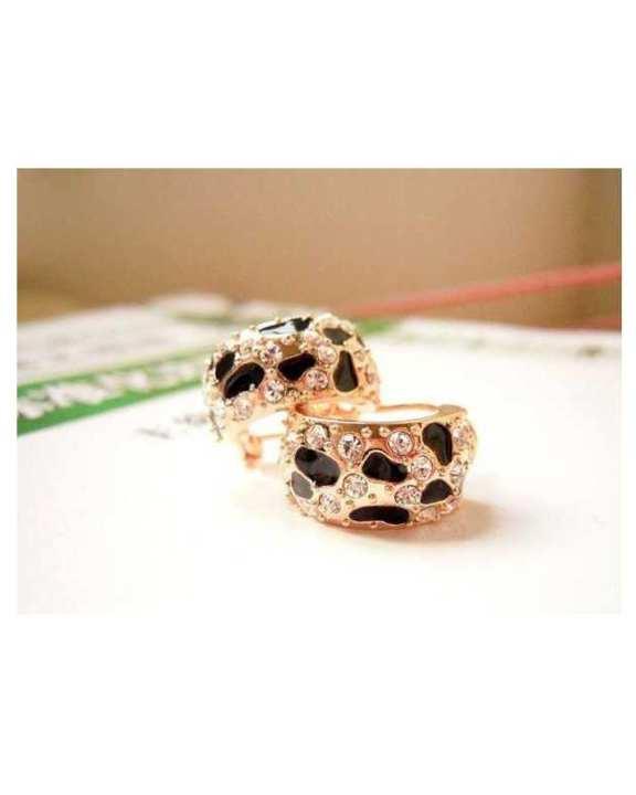 Shiny Rhinestone Crystal Stud Earrings - Ae45