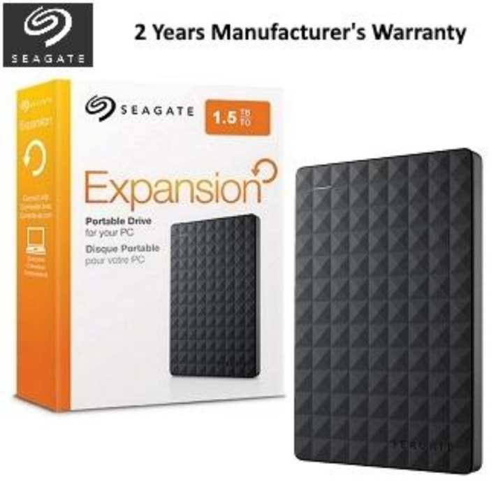 STEA1500400 -  Expansion Portable USB 3.0 External Hard Drive - 1.5TB - Black