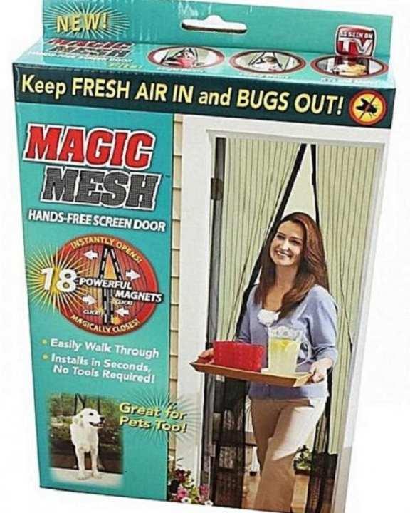 Magic Mesh Hands Free Magnetic Screen Door