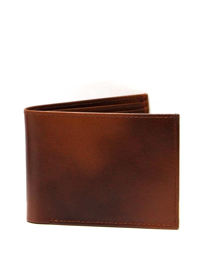 Brown Leather Wallet for Men - 4400  W21K
