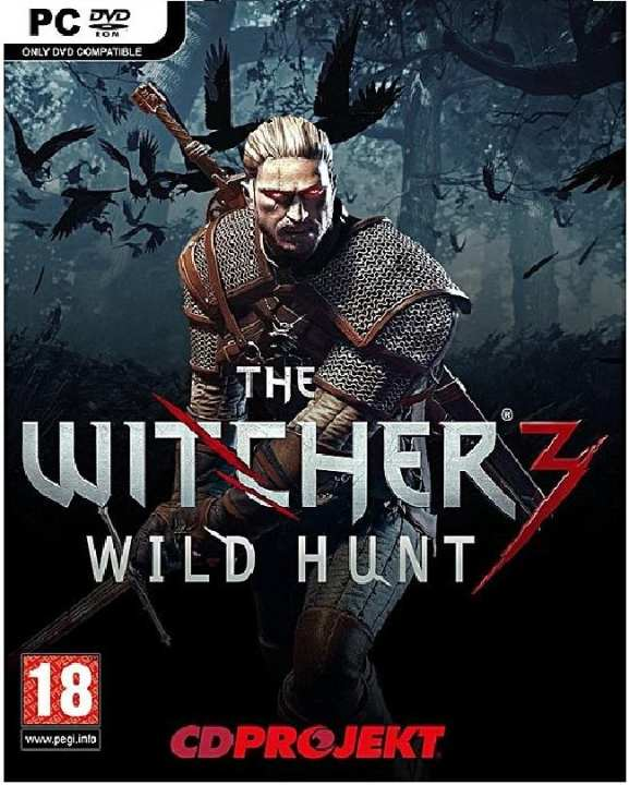 Bandai Namco The Witcher 3: Wild Hunt - Pc Dvd Game