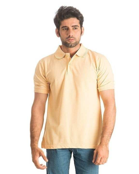 Pack of 3 Multicolour Cotton Polo Shirts for Men