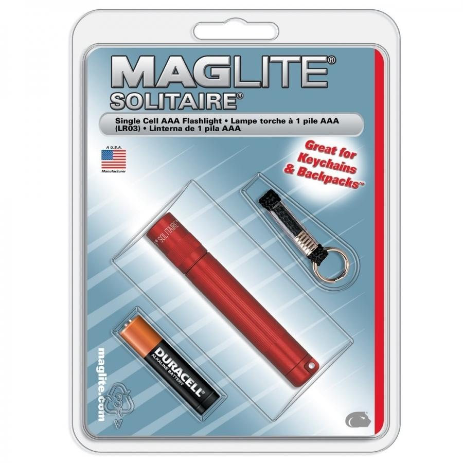 Maglite Solitaire Online Store In Pakistan Single Cell Led Flashlight 1 Aaa Incandesecent Light Red