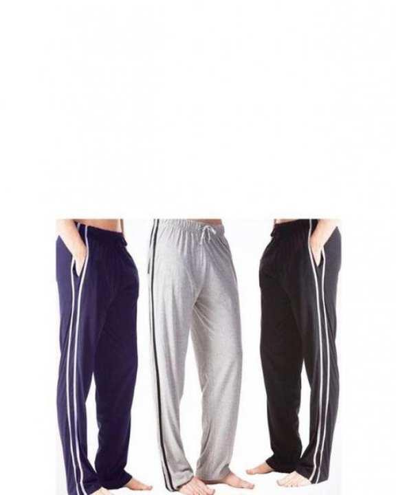 Pack of 3 - Multicolor Trouser For Men