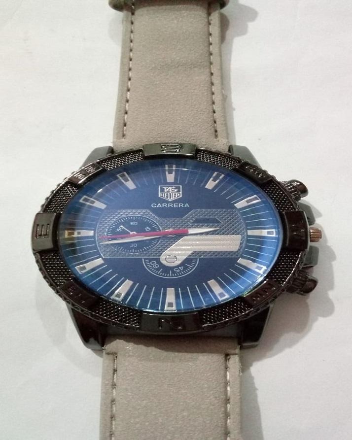 Black Round Shape Watch Tt-33221