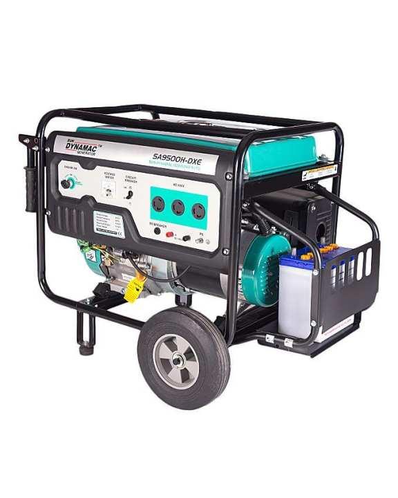 SN9500H - 6.5 kW - Petrol & Gas Generator - Electric Start - Blue (BrandWarranty)