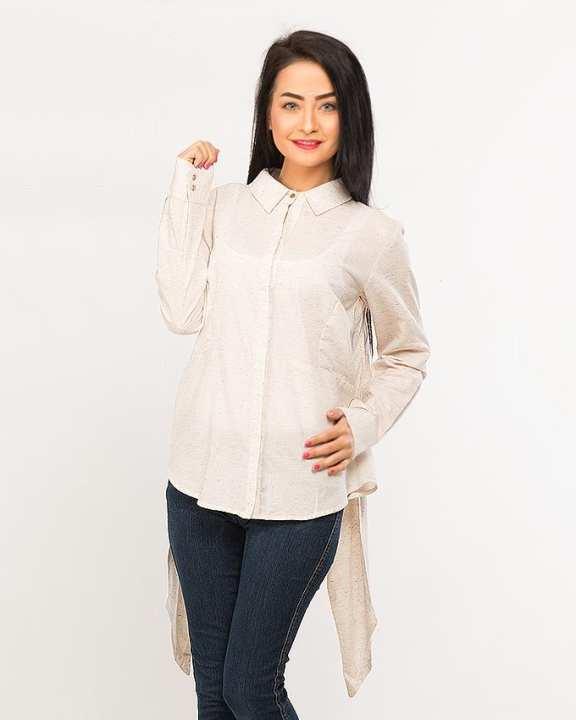 BEECHTREE - Absolute O-WHITE 1-Pcs Shirt For Women