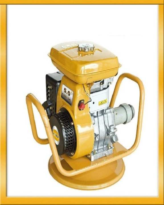 Vibrator with engine - Yellow