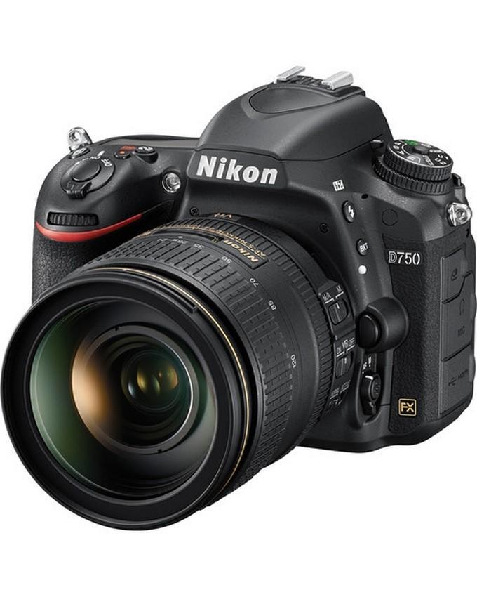 D750 (24-120 Lens) Kit - Black