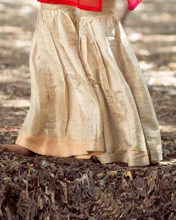Golden Luxe Gharara For Women