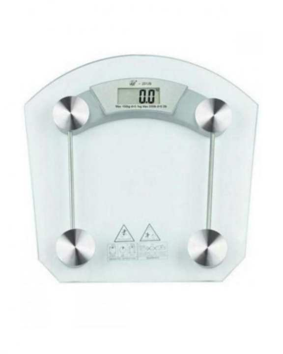 Electronic Glass Tempered Weighing Scale - Transparent