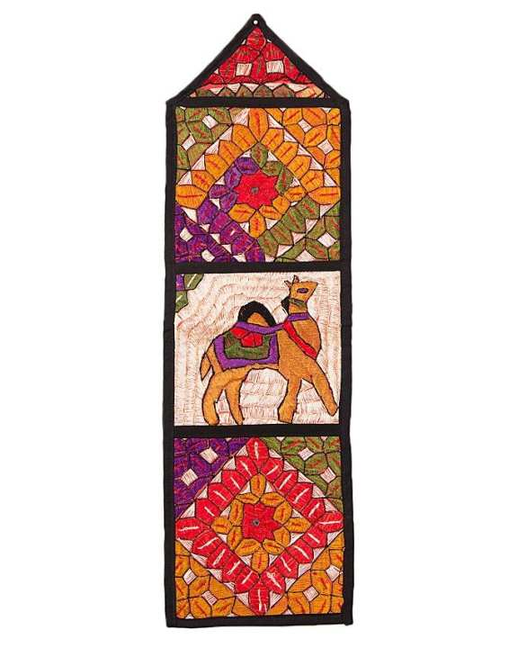 Traditional Camel Wall Hanging - Multicolour