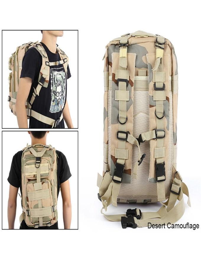 1404c6a67b 9 Color Unisex Outdoor Military Army Tactical Backpack Trekking Travel  Camping Hiking Trekking Camouflage Bag
