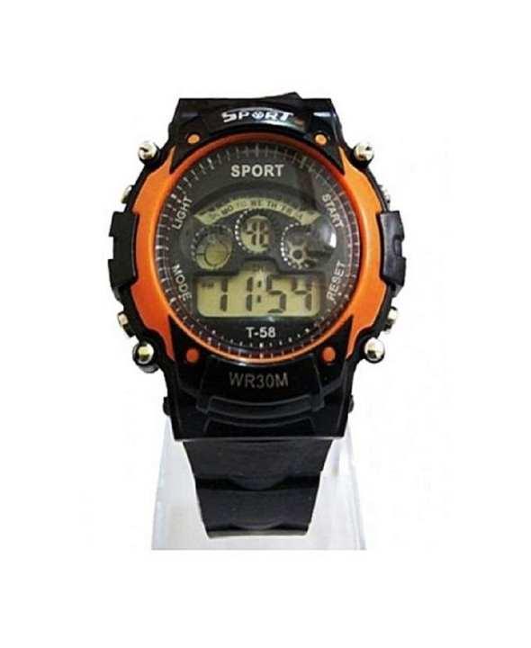 Super Fit Digital Junior Sports Watch - Orange