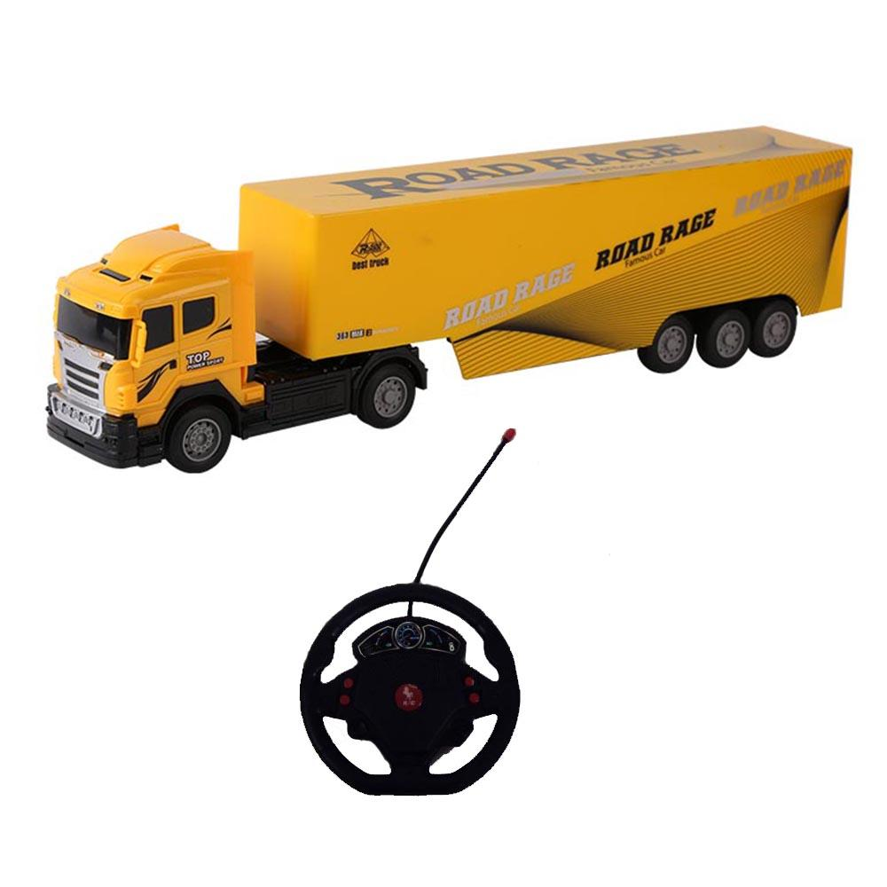 Remote Control Rechargeable Heavy Truck Toys For Kids
