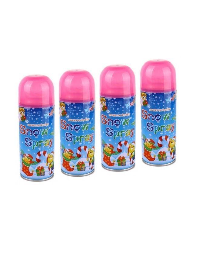 Pack of 4 - Snow Spray