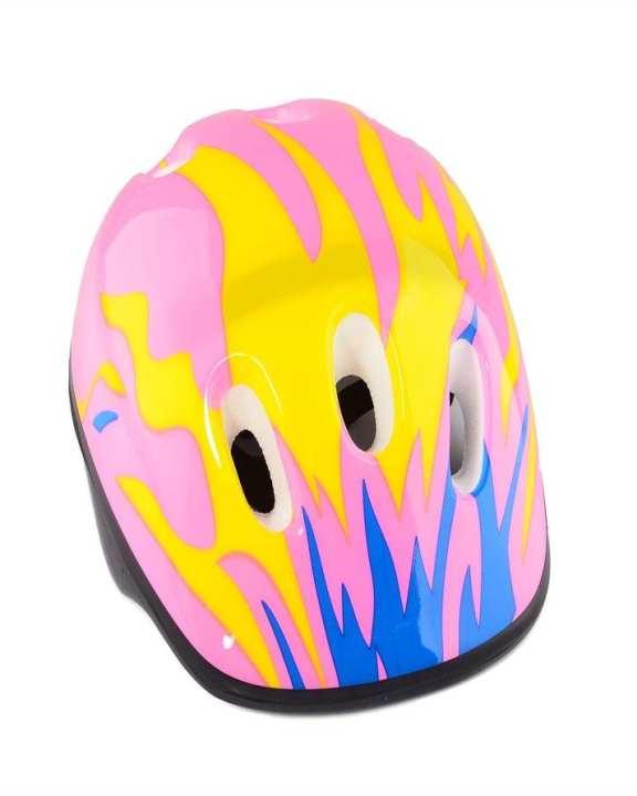 Cycling Skates Helmet for Children Kids - Pink