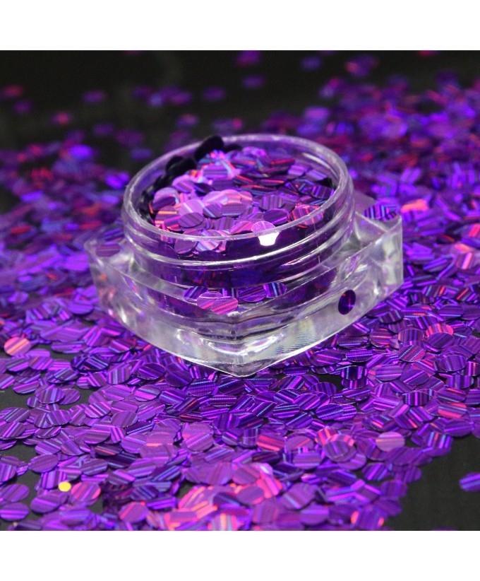 3g Glitter Pot For Nails Purple