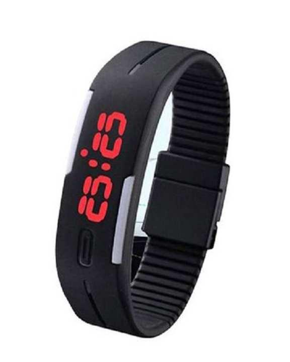 LED Sports Watch - Black