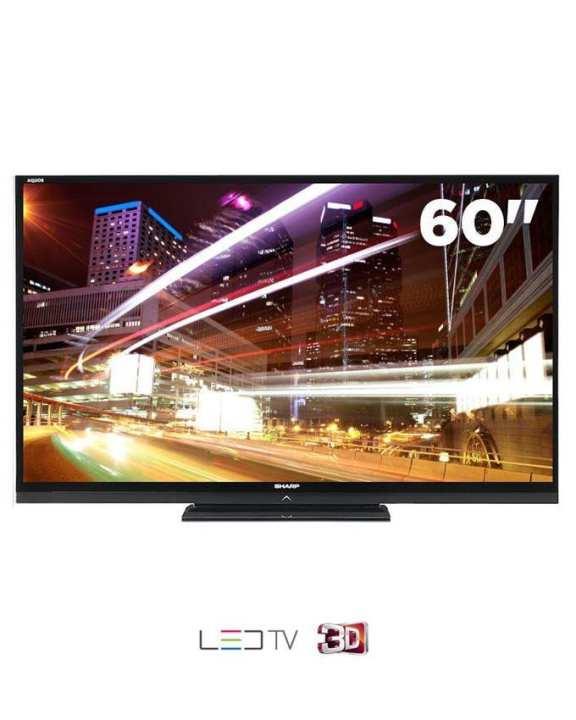 Sharp LED TV - 60 Inches - 60LE835 - 3D - Black