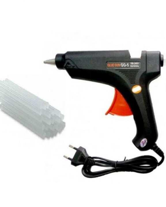 Heavy Duty Hot Melt Glue Gun 60 Watt & 2 Glue Stick