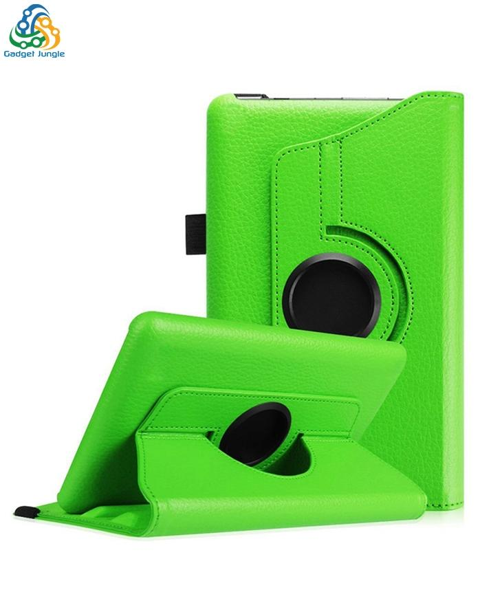 Book Cover Leather Case For Amazon Fire Tablet (5Th Generation) 7Inch - 360  Degree Rotate