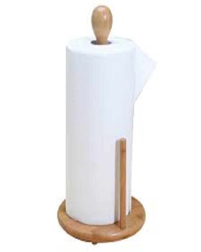 Wooden Kitchen Tissue Roll Holder
