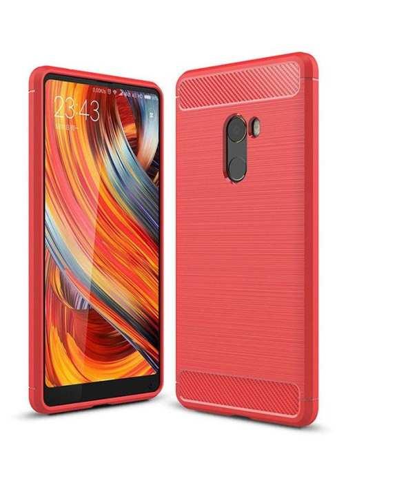 Xiaomi Mi Miix 2 Brushed Texture Carbon Fiber Tpu - Red